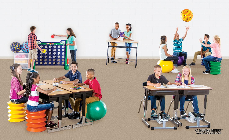 Classroom Design For Active Learning ~ Tools for maintaining student behavior while they move