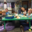 Students on flexible seating options