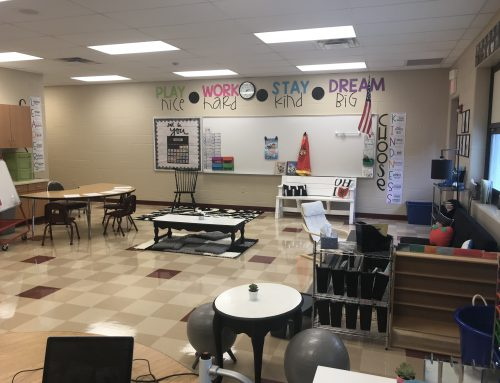 Giving Students Flexible Seating Options