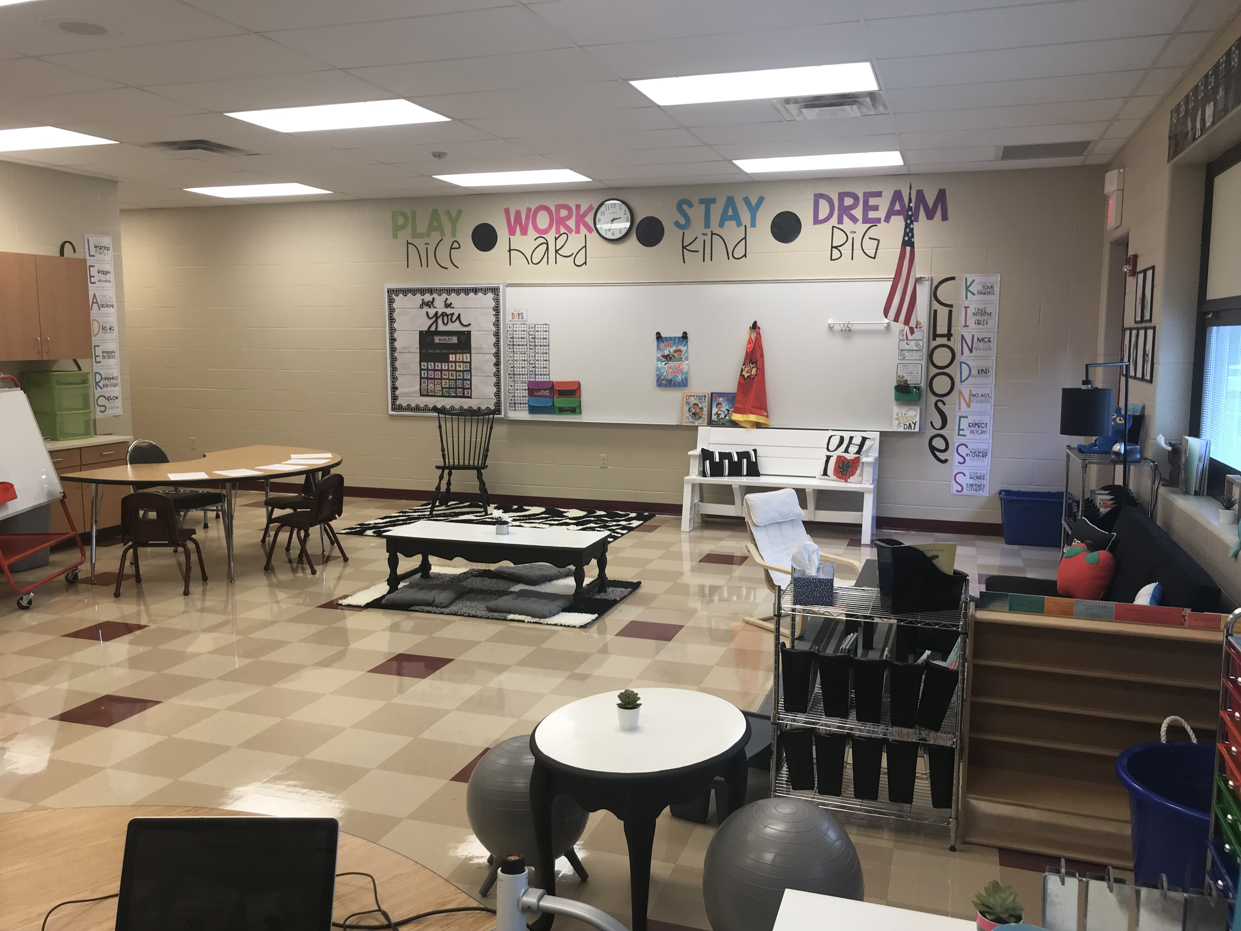 flexible seating option