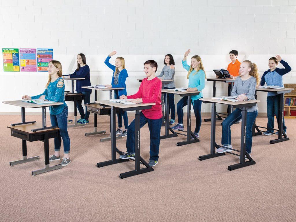 Standing Desks - Student Posture