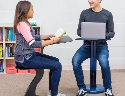 SaddlED – An Active Desk Chair Students Love!