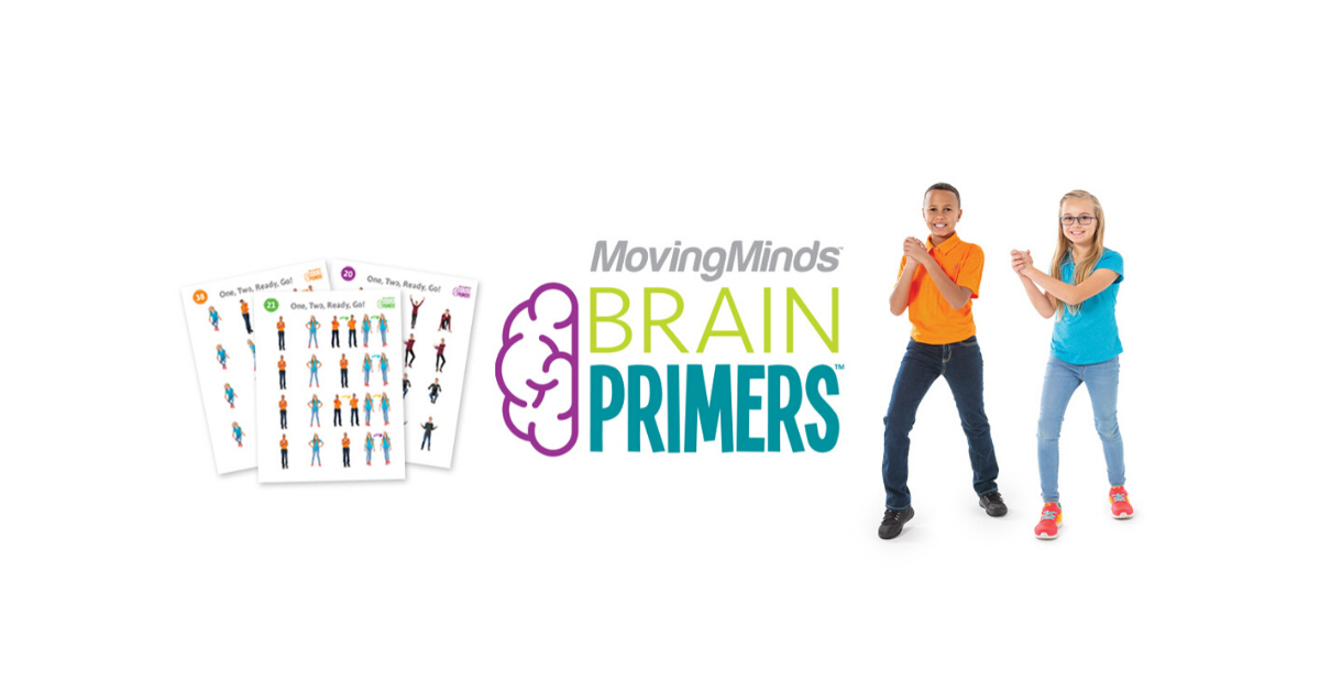 BrainPrimers - Activity cards that target executive function