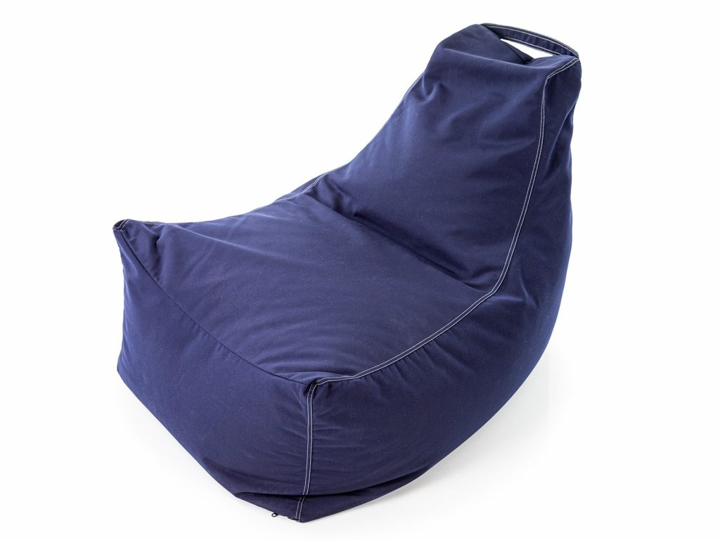 physical distancing in the classroom with Outdoor Beanbags