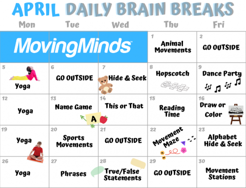 April Daily Brain Breaks