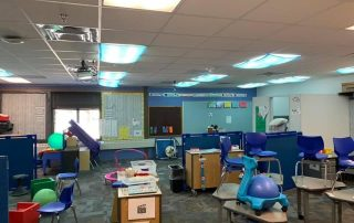 active seating in a special education classroom