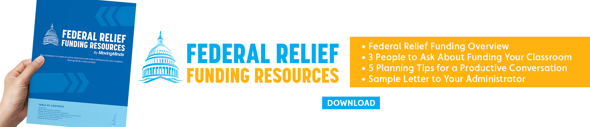 Moving Minds Federal Relief Funding Toolkit